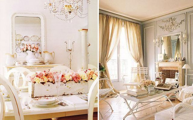 Estilo shabby chic i for Ideas y estilos deco