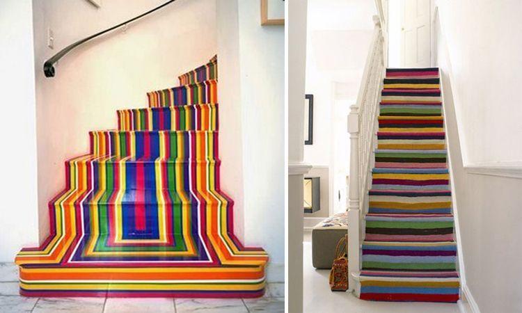 Escaleras sinuosas y originales para nuestros interiores.
