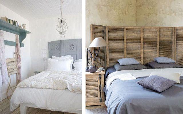 Decoraci n de dormitorios con cabeceros de biombos - Decoracion con biombos ...
