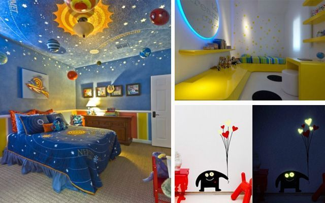 Dormitorios infantiles con luz for Ideas decorar habitacion infantil