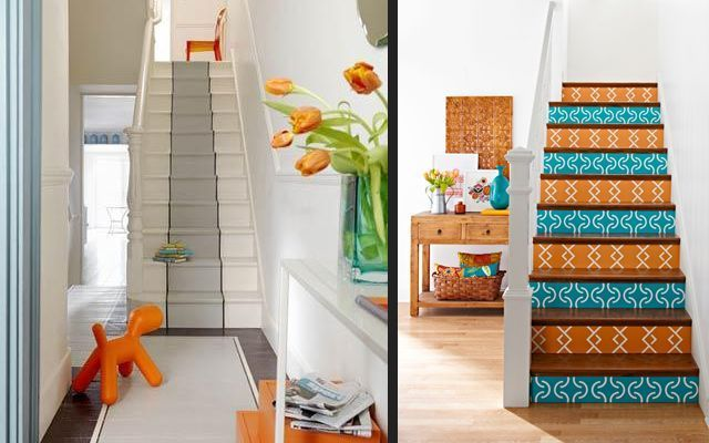 ideas para decorar escaleras