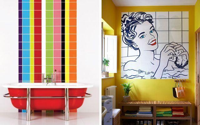 Estilo pop o cómo decorar con una explosión de color