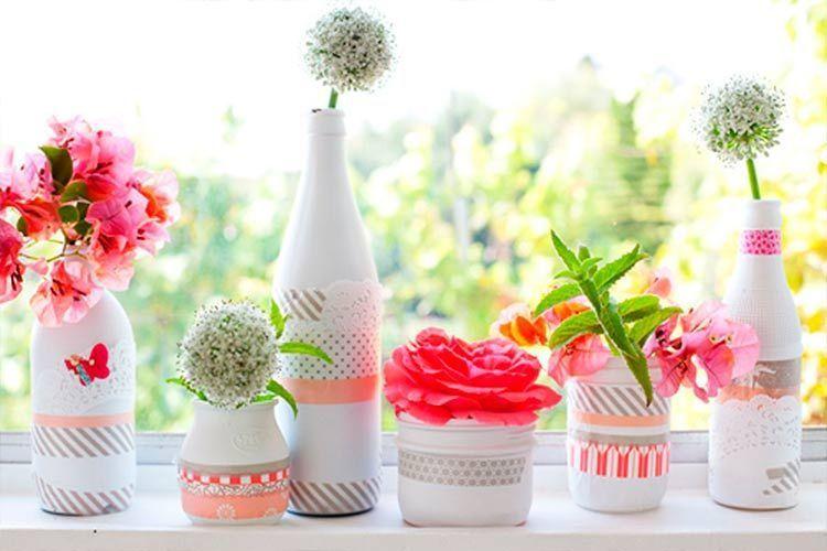 decoracion-mesas-verano-botellas-flores-10