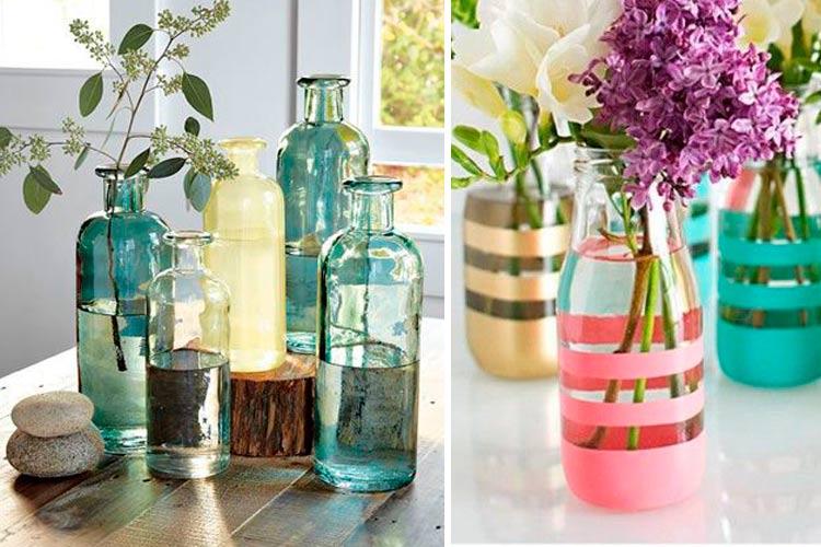 decoracion-mesas-verano-botellas-flores-11