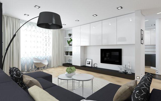 Salones black white - Complementos decoracion salon ...