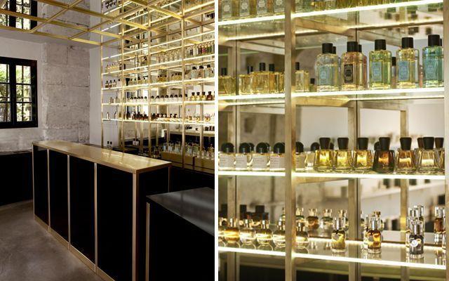 diseño de locales - liquides perfume bar