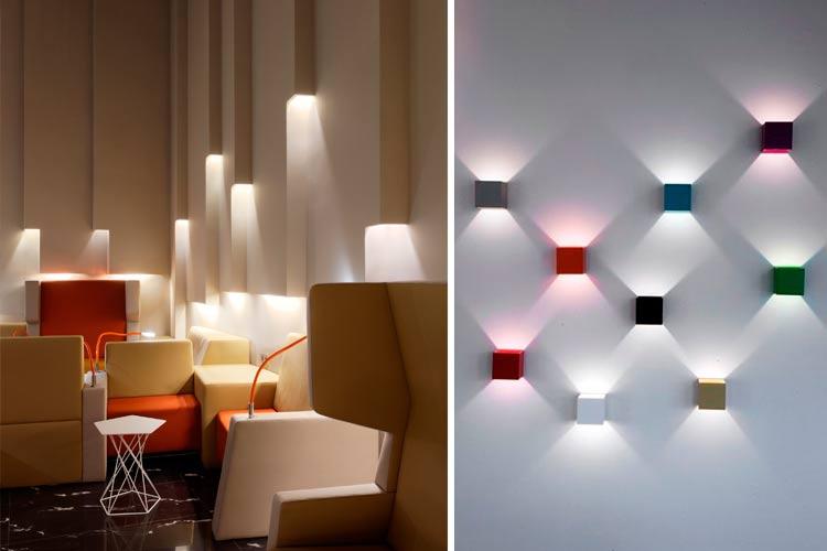 La luz como elemento decorativo