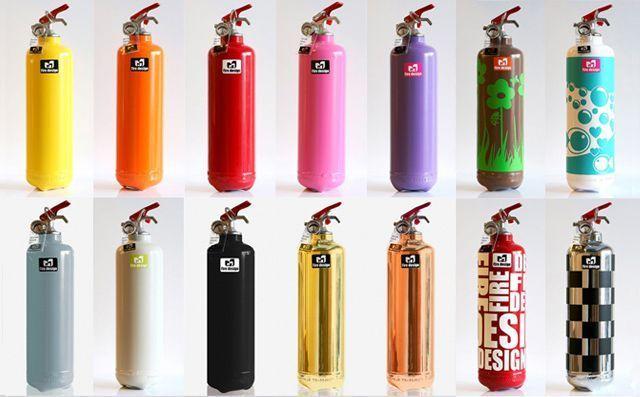 diseño gráfico - decoración extintores