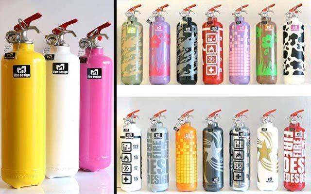 decoración extintores