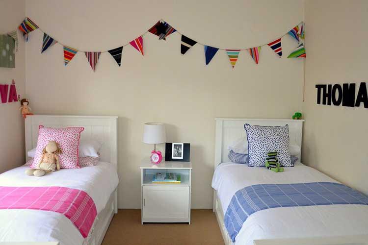 Dormitorios para ni s for Cuartos de nina y nino juntos