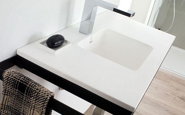 Soluciones de lavabo - Lavabos rectangulares sobre encimera ...