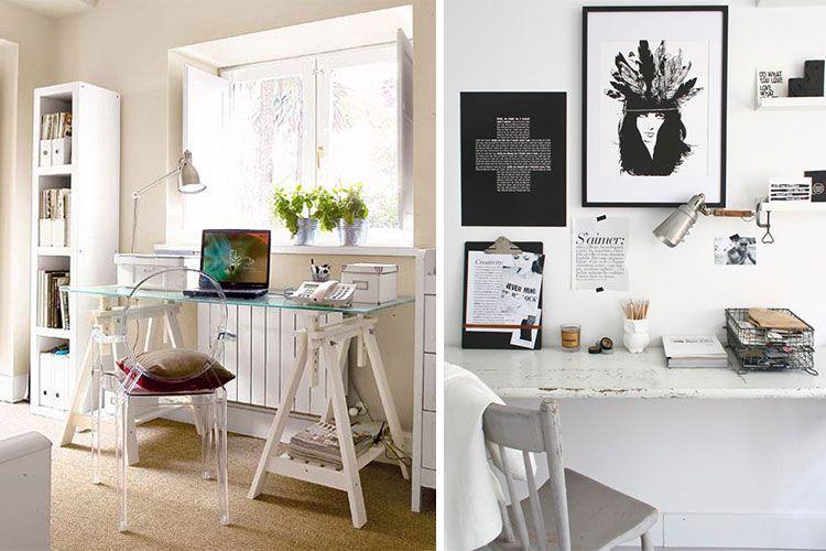 La mesa de despacho d nde colocarla - Mesas pequenas ordenador ...