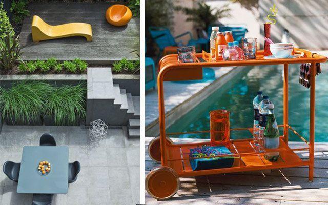 mobiliario para el jardín