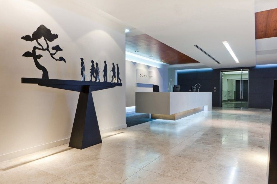 Ideas para dise ar una recepci n for Decoracion oficinas modernas