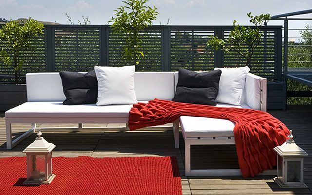 Muebles de exterior para la decoración de terrazas y jardines