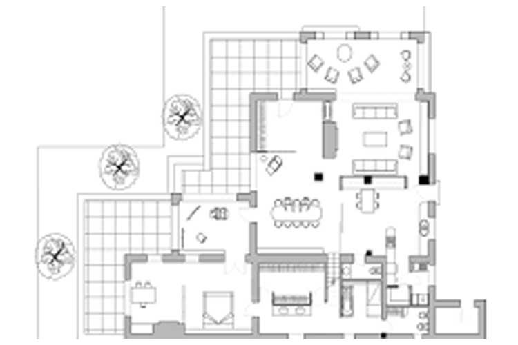 planimetría casa
