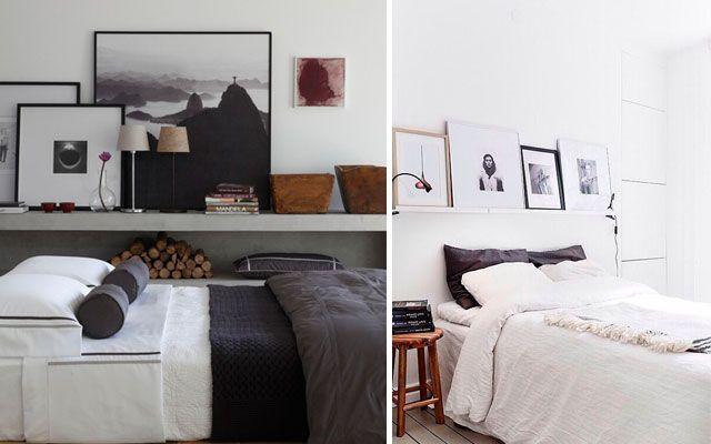 C mo colocar cuadros i apoyados - Que cuadros poner en el dormitorio ...