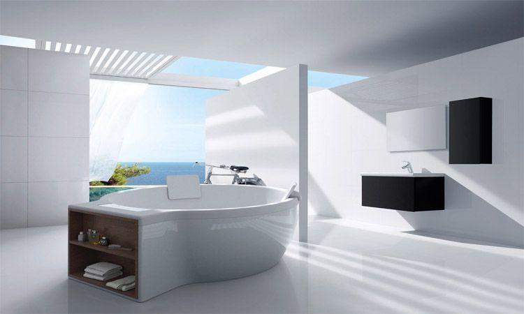 Unos baños para disfrutar de sus vistas.