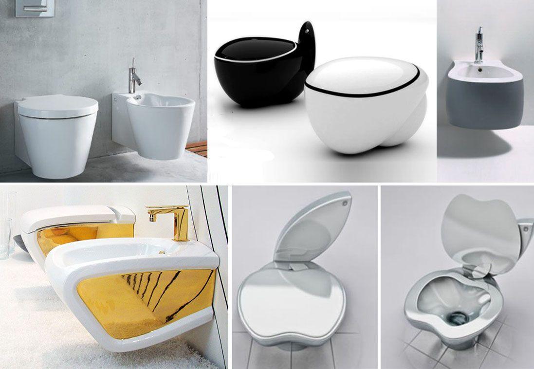 Decoración de baños - Inodoros de diseño