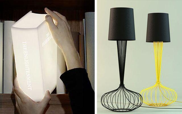 Iluminación y decoración con lámparas originales