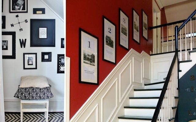 Ideas para decorar paredes de escaleras - Como decorar una escalera interior ...