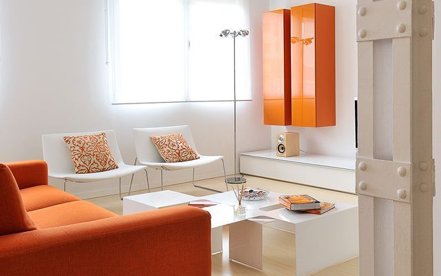 Decorar Casas Con Color   Naranja