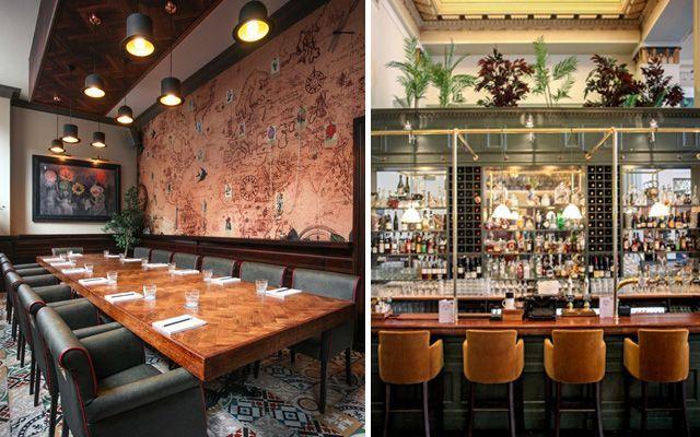 Mejores bares y restaurantes de diseño