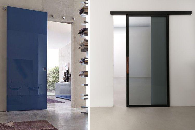 Decoración con puertas correderas translúcidas