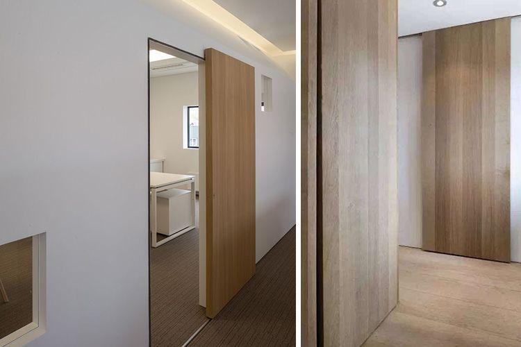 Decoración con puertas correderas de madera