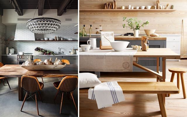 Cocinas con office de estilo contemporáneo