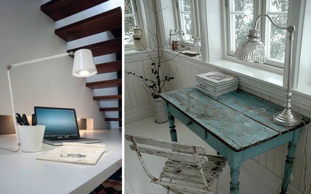 Ideas para decorar el despacho con flexos