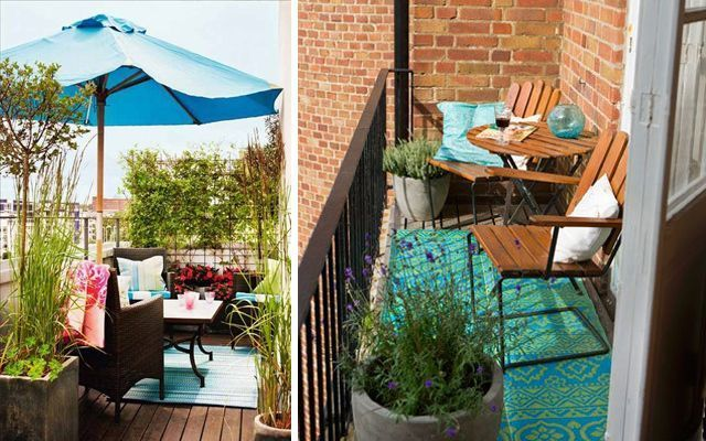Ideas para decorar terrazas y balcones - Ideas decoracion terraza ...