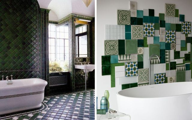 Decoracion Baño Verde:Vía: bright-journeycom