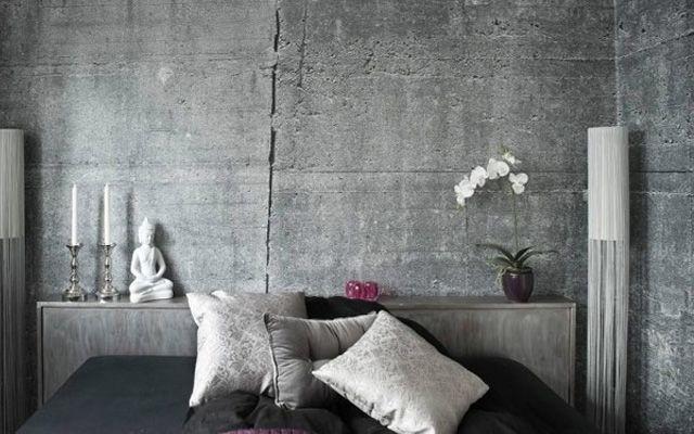 C mo decorar casas con hormig n - Como decorar un muro de hormigon ...