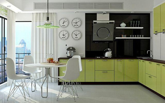decoracion-cocina-verde