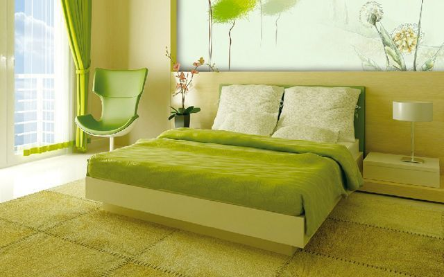 decoracion-dormitorio-verde