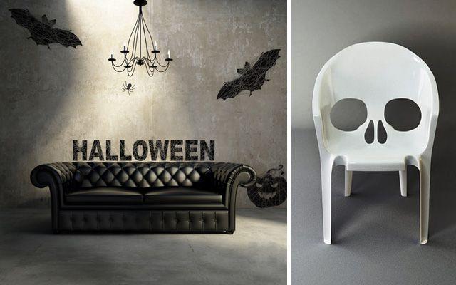 Ideas para decorar en halloween for Decoracion de halloween para casas