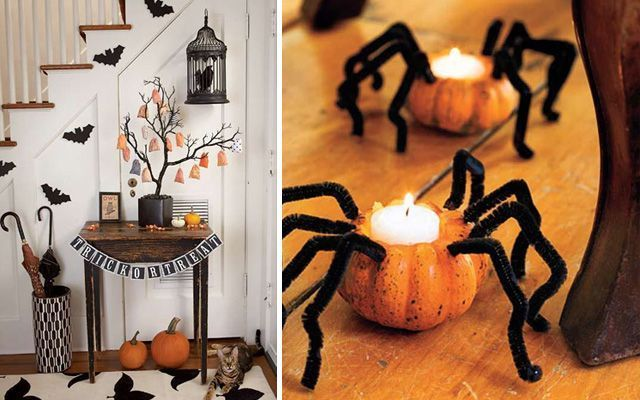 Ideas para decorar en halloween for Decoracion mesa halloween