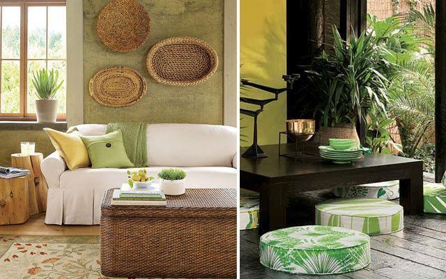 decoracion-salon-verde