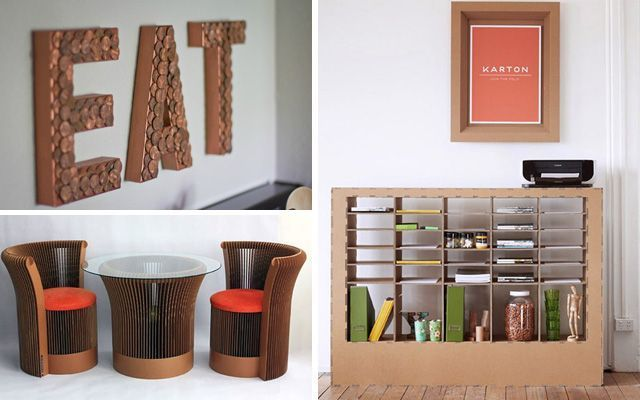 ideas para decorar con cart n