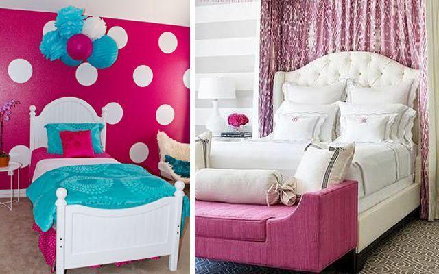 Dormitorios de ni a en color rosa - Blog decoracion dormitorios ...