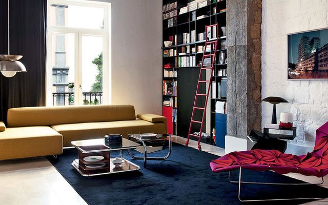Ideas para decorar salones con chaise longue