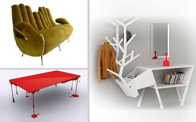 Meraklı mobilyalarla dekorasyon fikirleri