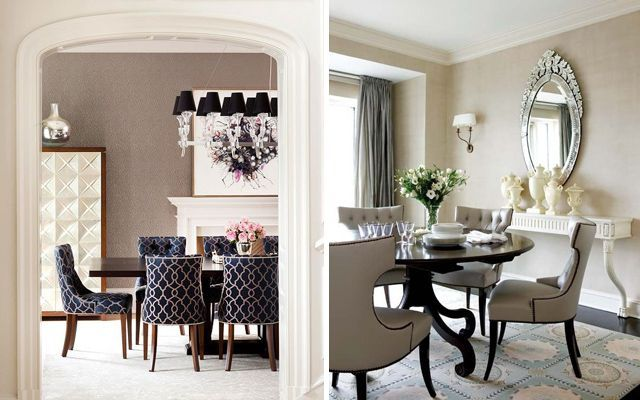 Ideas para decorar comedores elegantes - Ideas para decorar salon comedor ...