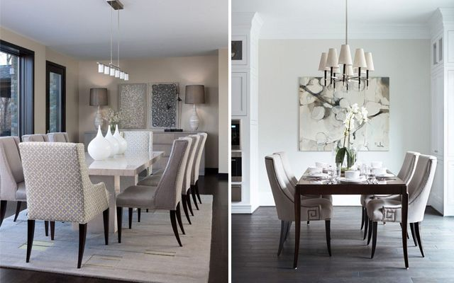 Ideas para decorar comedores elegantes for Como decorar un living comedor rectangular grande
