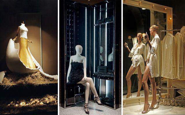 Diseño y decoración de escaparates utilizando escenografías