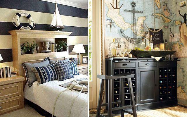 Estilo navy - Blog decoracion casas ...