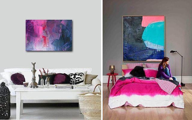 El arte en la decoraci�n – Pintura