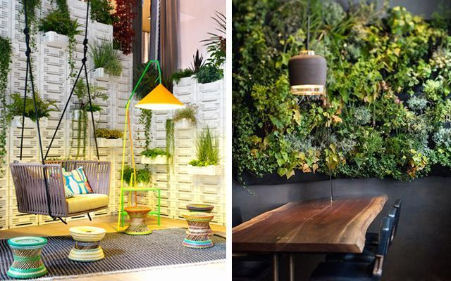 Ideas para decorar con plantas for Como decorar un jardin con plantas