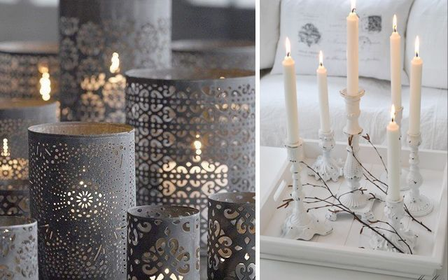 Decorar con velas - Decoracion con velas ...